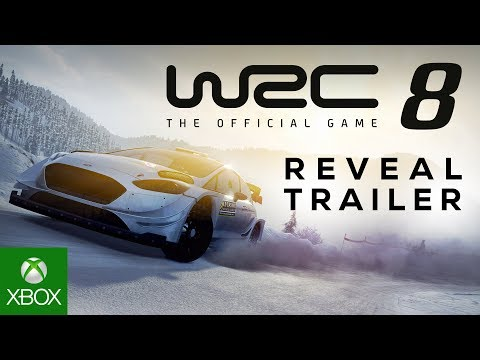 WRC 8 FIA World Rally Championship Reveal Trailer