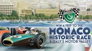 Win a trip to the 2016 Monaco Historic Race & Italy's Motor Valley