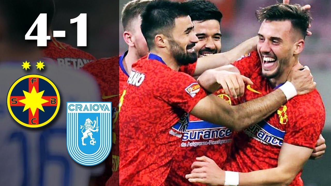 Rezumat: FCSB - U Craiova 4-1   Greseli mari ale oltenilor   Etapa 2 Play Off