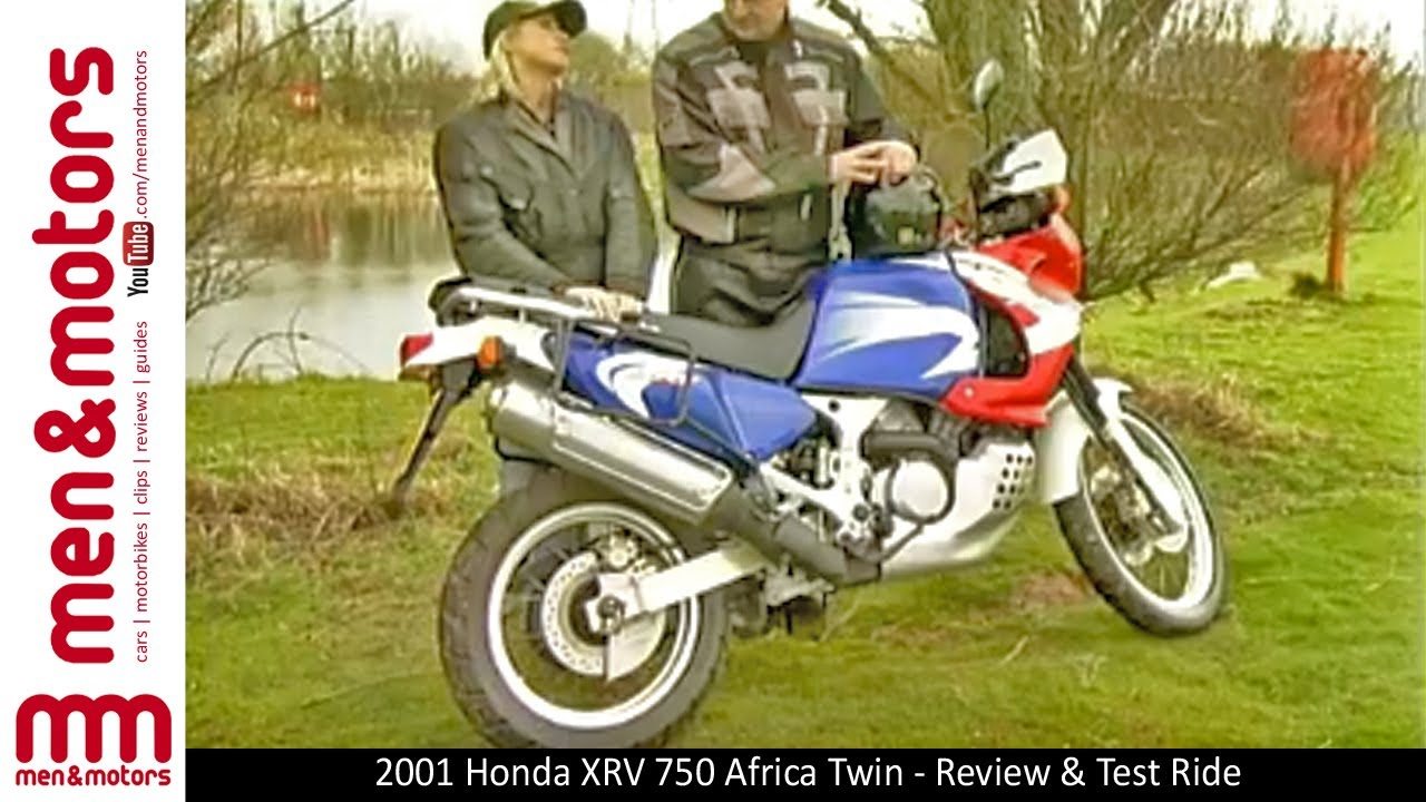 2001 honda xrv 750 africa twin review test ride youtube. Black Bedroom Furniture Sets. Home Design Ideas