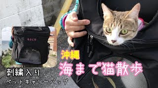 ミーティちゃんにプレゼント!「提供」 WINSUN の刺繍入りペットキャリ...