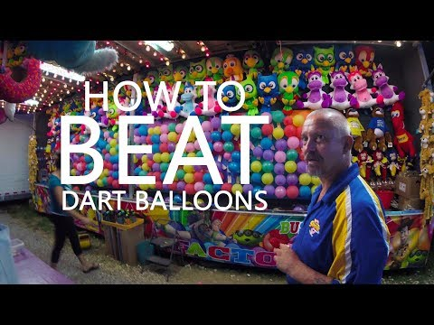 KEN HERON - How To BEAT a Carnival Dart Game with Technology