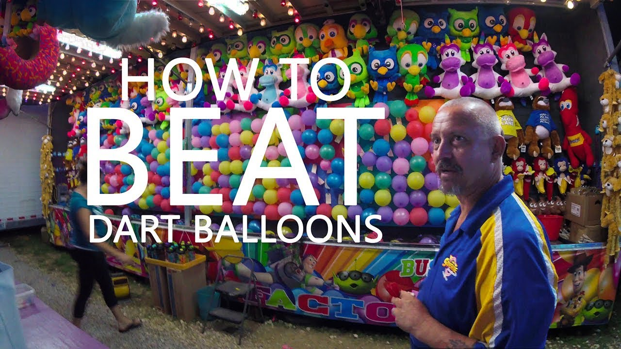 Ken Heron How To Beat A Carnival Dart Game With Technology Youtube