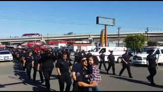 Despiden a bombero