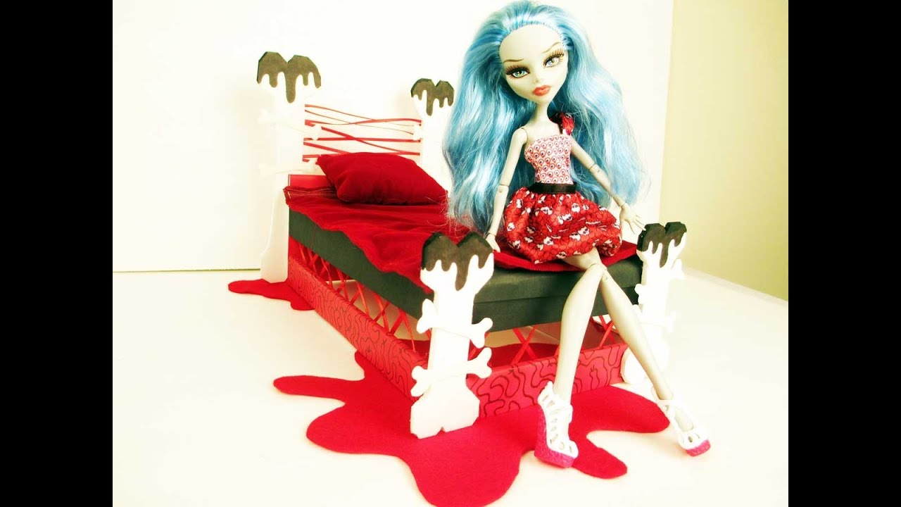 Monster high ghoulia bed images for How to make a high bed