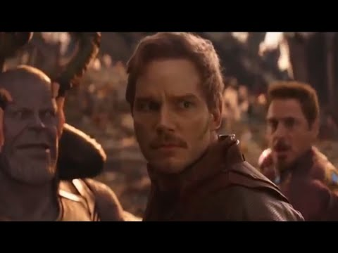 Avengers infinity war - Star lord stupidity