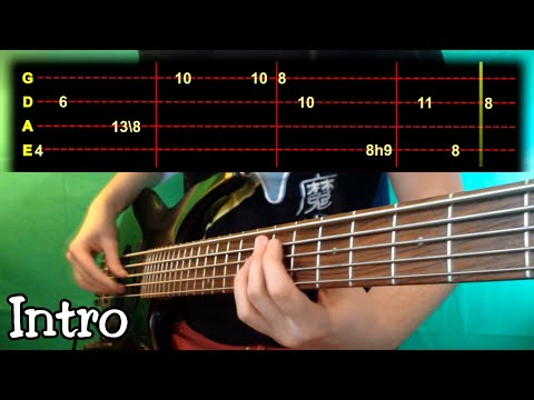 Metronomy - Heartbreaker Bass Cover (With Tab)