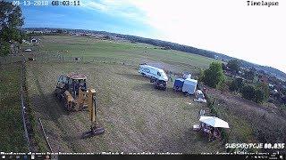 S03E01 - Budowa domu konkursowego - Geodeta, wykopy pod fundamenty # Dzień 1 18+ Livestream