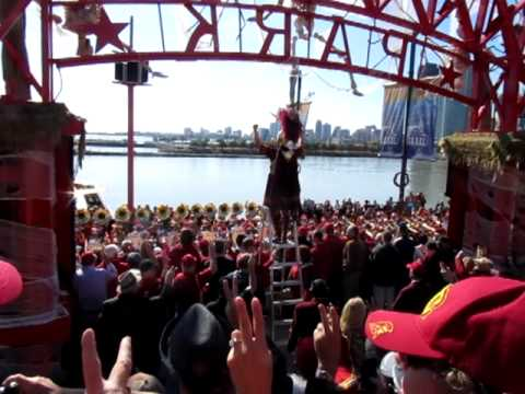 USC Marching Band at Navy Pier Chicago 2 Fight Song