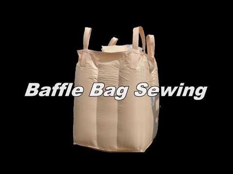 KEESTAR BaffleSEW53 Chain Stitch Sewing Machine For Q Bag, Baffle Bag, FIBC