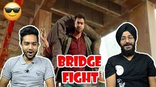 Sarkar Bridge Fight Scene REACTION | Thalapathy Vijay | Keerthy Suresh | Parbrahm&Anurag