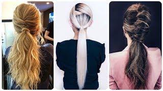 Top 20 modny kucyk fryzura dla kobiet