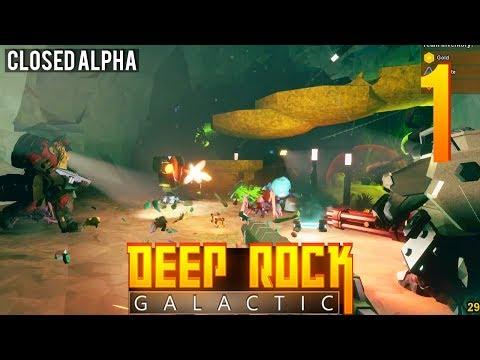 [1] Deep Rock Galactic Alpha w/ GaLm and friends