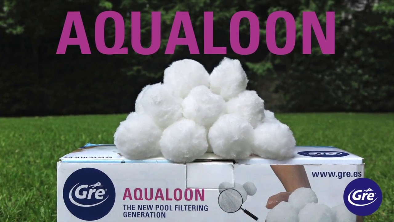 Pool Filteranlage Filter Balls Descubre Aqualoon Filtración Del Agua De La Piscina Gre Discover Aqualoon Gre Pool Filtration