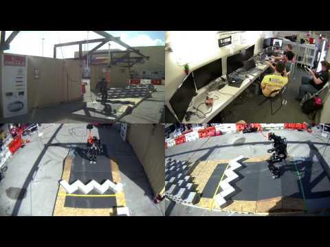 DARPA Robotics Challenge Trials - Red Terrain