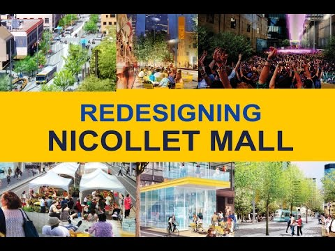 Redesigning Nicollet Mall