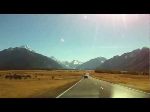 Twizel to Mt Cook timelapse