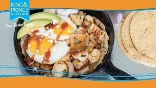 Scallop & Seafood Huevos Rancheros