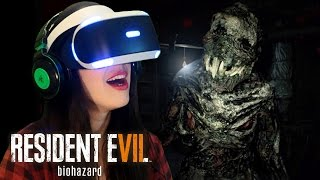 RESIDENT EVIL 7 VR - My First Time with VR