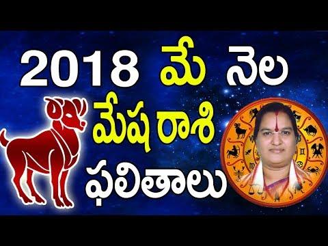 మేషరాశి | Mesha Rasi 2018 | May Mesha Rasi Phalalu 2018 | Astrology In Telugu | Rasi Phalalu 2018