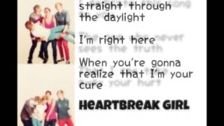 Heartbreak girl 5sos lyrics