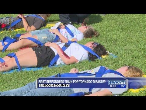Tornado Drill in Lincoln County