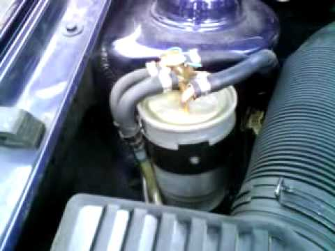 Diesel Fuel Filter >> Bulle Filtre Gasoil - YouTube