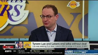 Adrian Wojnarowski UPDATE: Lakers decide to re-open coaching search, will not hire Ty Lue | ESPN SC