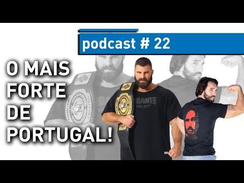 HOMEM MAIS FORTE DE PORTUGAL - Fábio Silva - PODCAST 22