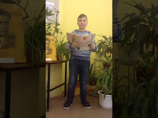 Изображение предпросмотра прочтения – ИльяНазаркин читает произведение «Что такое хорошо и что такое плохо» В.В.Маяковского