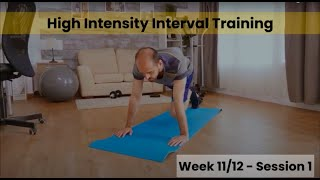 HIIT - Week 11/12  Session 1 (Control)