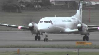 Morning Mail Go-Around! | BAe ATP Atlantic Airlines | G-BUUP | Go-Around, Landing & Unloading