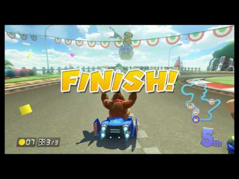 Mario Kart 8 (MK8) tournament OC/B v Rf GAZ, WEEN, AARON AND THE SAINT!