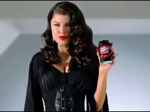 Dr Pepper Cherry Fergie Commercial 2011