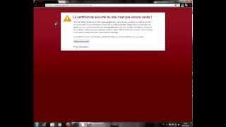 Solution pour le problème de Le certificat de sécurité du site n'est pas encore valide !