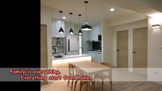 廚房是家人健康與美味料理的起點|老舊廚房大變身●竣美工程●台中室內裝潢