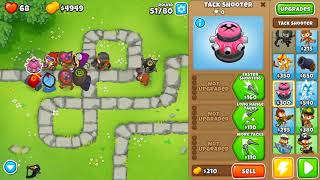 BLOONS TD 6 MONKEY MEADOW MAP ON HARD - MAGIC MONKEYS ONLY