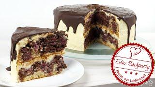Donauwellen - Torte ( Die Torte für besondere Anlässe !)