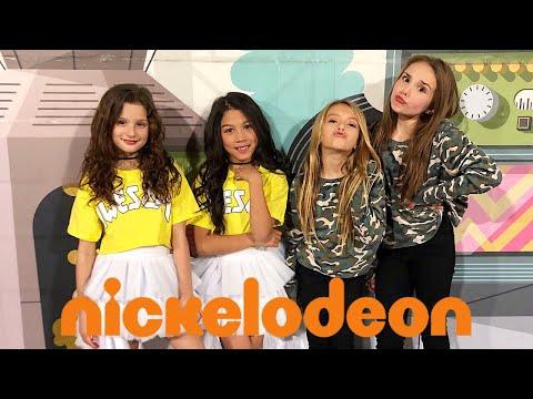 Nickelodeon Knight Squad Premiere | w/ Hayley Leblanc | Txunamy