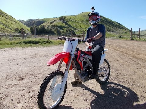 2016 Honda CRF 250r Riding At Carnegie OHV Park Tracy By VerdugoAdventures