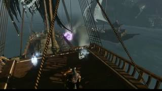 Archeage 3.0 Naval Combat - 2nd Aeon vs Core Abyssal Fight
