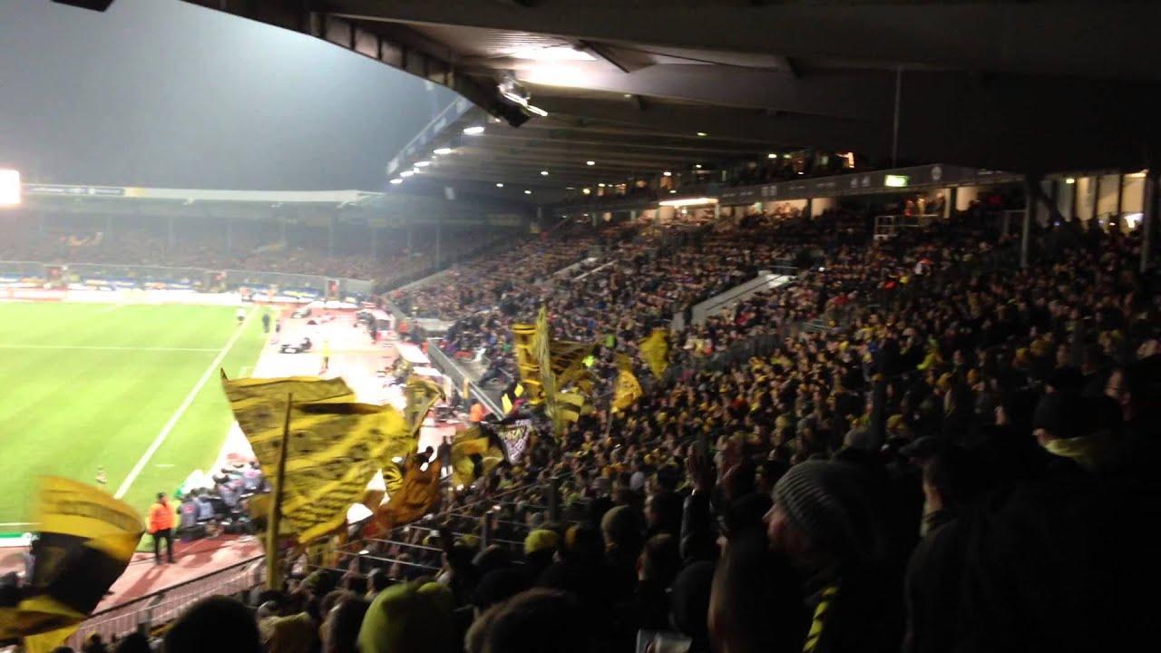 Eintracht Braunschweig - Borussia Dortmund BVB Fans