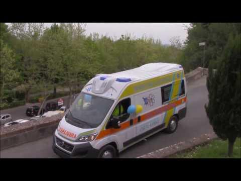 Inaugurazione Nuova Ambulanza Misericordia San Miniato