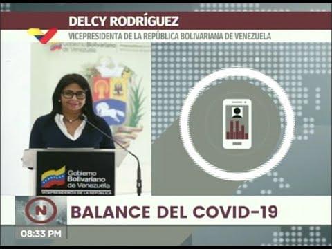Reporte Coronavirus Venezuela, 20/07/2020: 443 casos y 4 fallecidos, informó Delcy Rodríguez