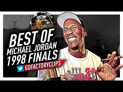 Best of Michael Jordan EPIC Offense Highlights vs Utah Jazz from 1998 Finals!