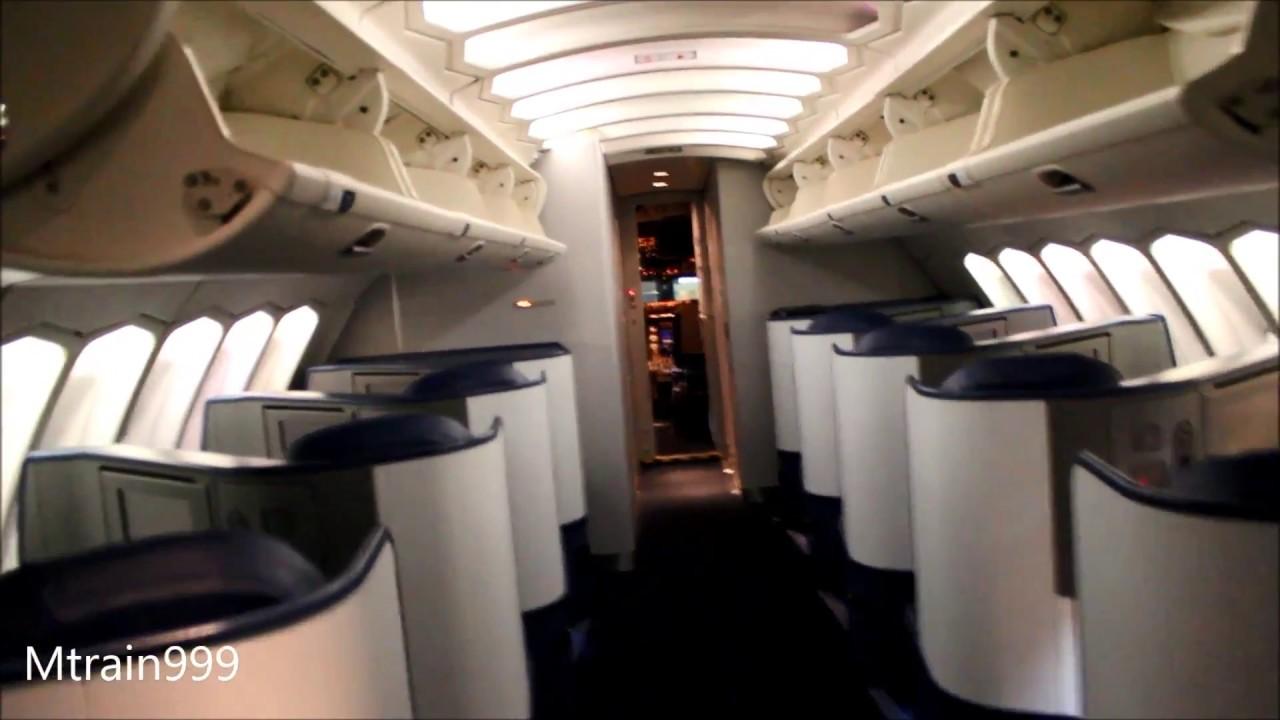 Delta Boeing 747 400 Interior
