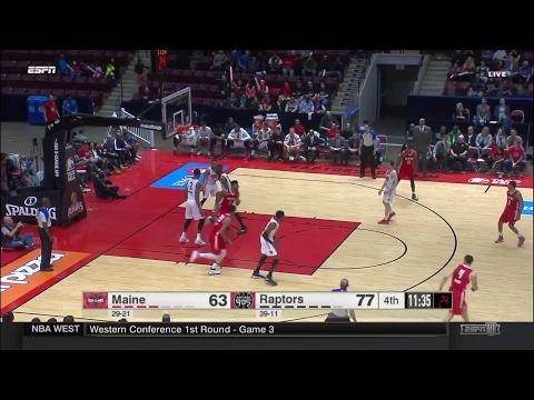 Highlights: Jordan Mickey (13 points)  vs. the 905, 4/19/2017