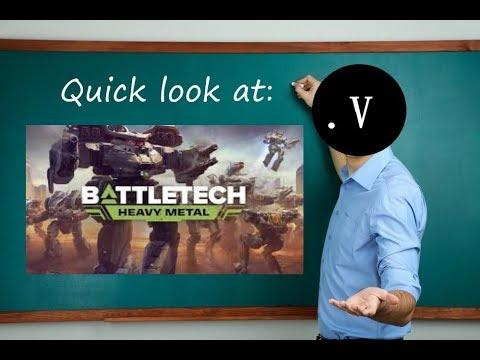 Quick look at: BATTLETECH |