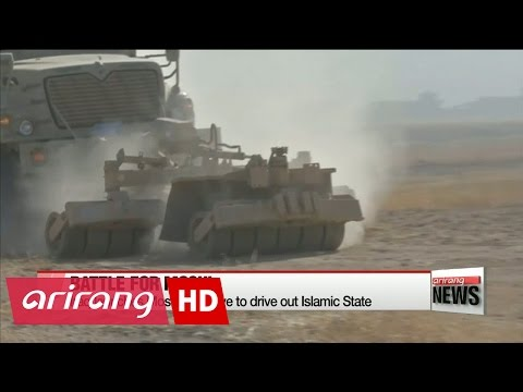 Iraq launches Mosul offensive to drive out Islamic State