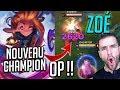 🔥 ZOÉ, ANALYSE DU NOUVEAU CHAMPION LoL ! OneShot + OP, Mon Perso Favoris! (Gameplay FR S8)